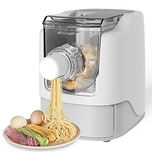 Razorri Vollautomatische Nudelmaschine Elektrische Pasta Maker - Machen Sie 450g hausgemachte Nudeln in 10...