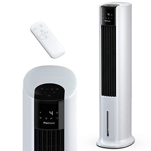 Pro Breeze 7 Liter Mobiler Luftkühler mit 7 Geschwindigkeitsstufen, 3 Betriebsarten & Digitalem Display -...