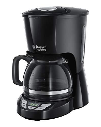 Russell Hobbs Digitale Kaffeemaschine Textures+, programmierbarer Timer, bis 10 Tassen, 1,25l Glaskanne,...