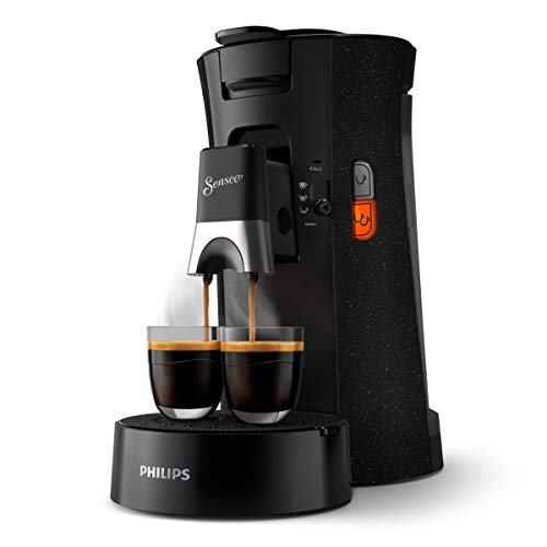 Philips Senseo Select ECO CSA240/20 Kaffeepadmaschine - Kaffeestärkewahl Plus, Memo-Funktion, aus recyceltem...
