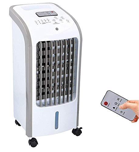 JUNG COMMODO mobiles Klimagerät mit Wasserkühlung, TÜV geprüft, inkl. Fernbedienung + Timer, Mobile...