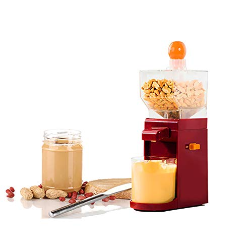 Kylewo Peanut Butter Machine, Peanut Butter Maker Dry Stainless Steel Sesame Paste Machine Miniature Household...