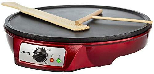 Gadgy ® Crêpes Maker | Antihaftbeschichtung | 30 cm Durchmesser | 1000 Watt Anpassbare Temperatur | LED...