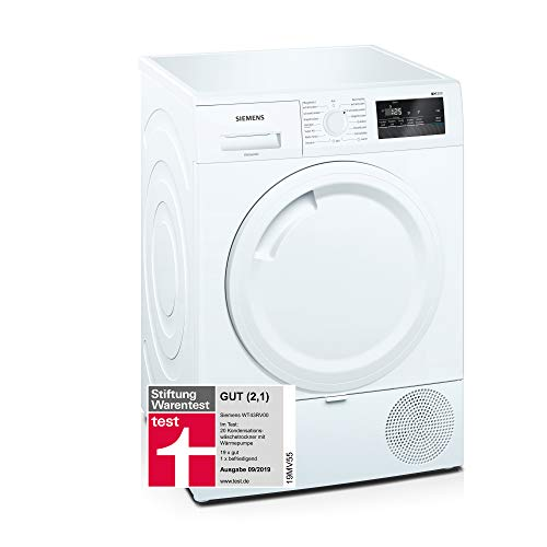 Siemens WT43RV00 iQ300 Wärmepumpentrockner / 7kg / A++ / autoDry / super40'-Programm /...