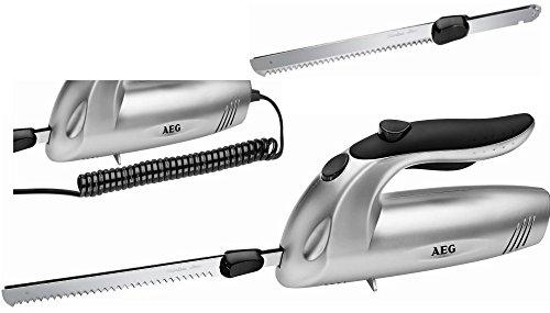 AEG EM 5669 ELEKTRISCHES KÜCHEN-MESSER Brotmesser + EDELSTAHL-DOPPELKLINGE ELEKTROMESSER