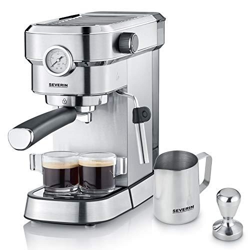 SEVERIN Espresa Plus KA 5995 Espressomaschine (ca. 1350 W, massiver und professioneller Siebträger inkl....