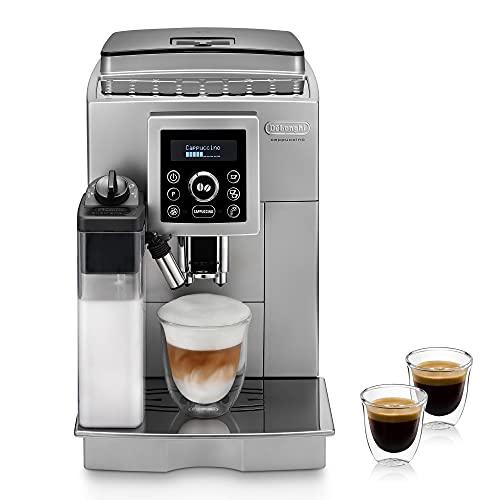 De'Longhi ECAM 23.466.S Kaffeevollautomat mit LatteCrema Milchsystem, Cappuccino und Espresso auf Knopfdruck,...