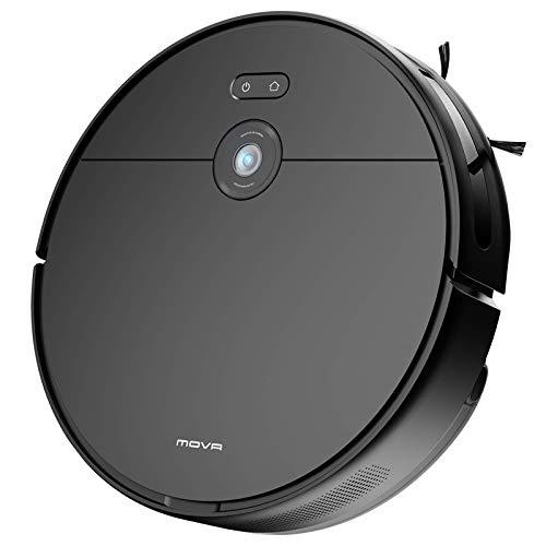 MOVA Z500 Saugroboter mit Wischfunktion, Visualle Navigation, Saugkraft 3000Pa, Mit Alexa- & App-Steuerung,...
