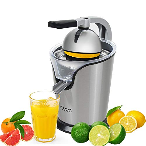 OZAVO Zitruspresse elektrisch, Orange Saftpresse mit Hebelarm, Citrus Juicer für frische Zitrusfrüchten,...