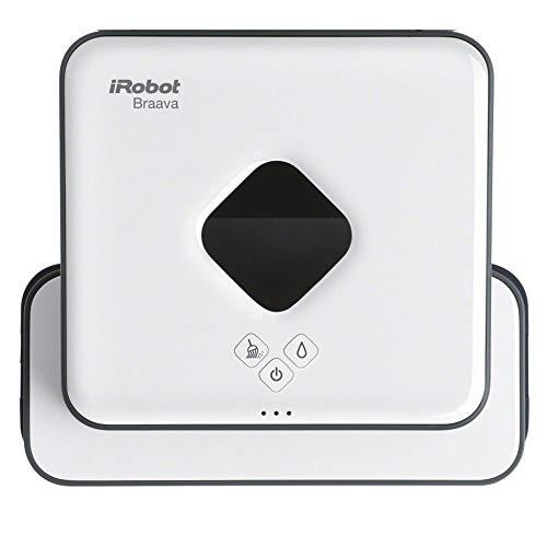 iRobot Braava 390t Wischroboter, intelligente Navigation, 2 in 1: Trocken- und Feuchtreinigung, Ideal für...