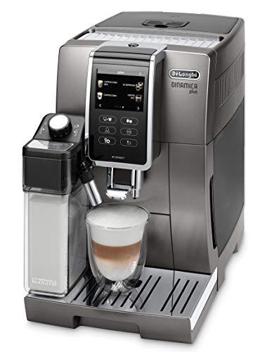 De'Longhi Dinamica Plus ECAM 370.95.T Kaffeevollautomat mit LatteCrema Milchsystem, Cappuccino & Espresso, 3,5...