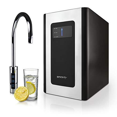 smardy blue Soda & Cool Wassersprudler für 425g CO2 Flaschen mit 2 Stufen Ultrafiltration für stilles,...