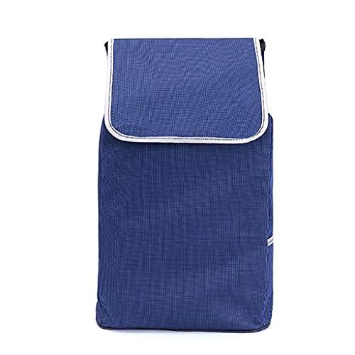 WYZXR Einkaufswagen Ersatztasche Einkaufswagentasche mit Seitentaschen Ersatztasche für Trolley,Oxford Tuch...