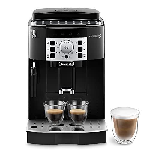 De'Longhi Magnifica S ECAM 22.110.B Kaffeevollautomat mit Milchaufschäumdüse für Cappuccino, mit Espresso...