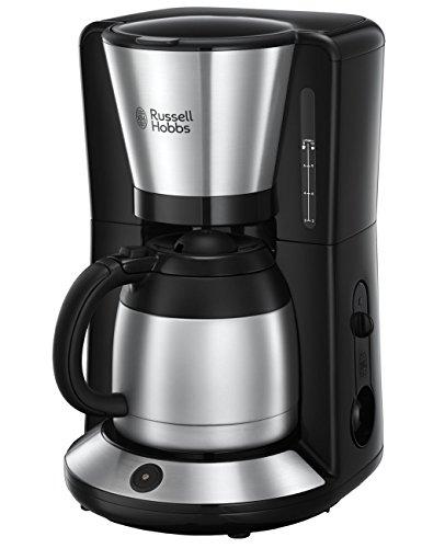 Russell Hobbs Kaffeemaschine Adventure Edelstahl, Thermokanne bis zu 8 Tassen, 1,0l, Abschaltautomatik,...