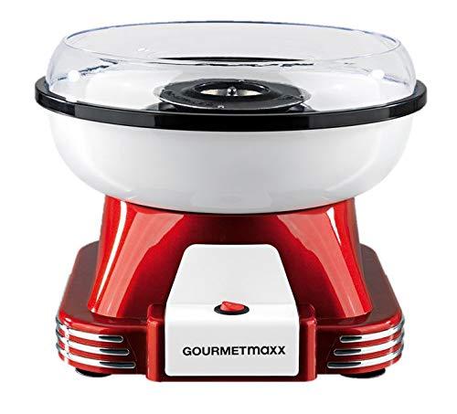 GOURMETmaxx Zuckerwattemaschine für Zuhause | Mit Zubehör für Cotton Candy, Candy Floss Maschine Set | Mit...