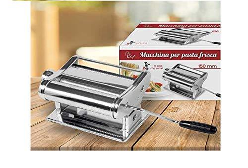 PRATIKO LIFE Nudelmaschine für frische Pasta, Stahl, einzigartig