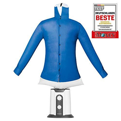 Bomann HBB 6025 CB Hemden-und Blusenbügler, 2 ind 1-Trocknen und Bügeln in einem Schritt, One...