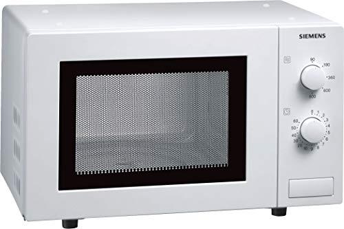 Siemens HF12M240 iQ100 Mikrowelle / 17 L / 800 W / 5 Leistungsstufen / Innenbeleuchtung / Weiß