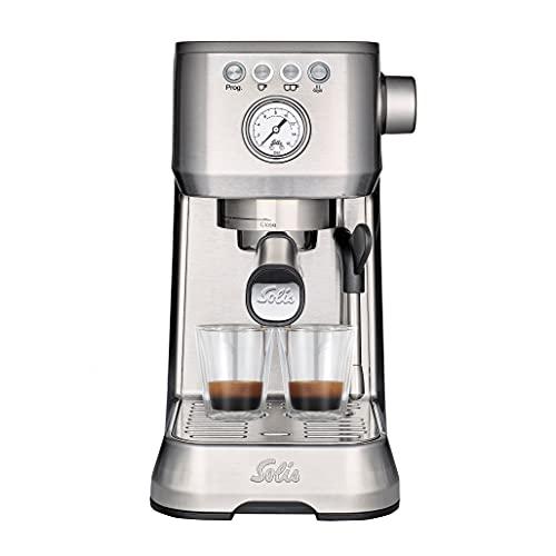 Solis Barista Perfetta Plus 1170 Kaffeemaschine - Espressomaschine mit Dampf- und Heißwasserfunktion -...