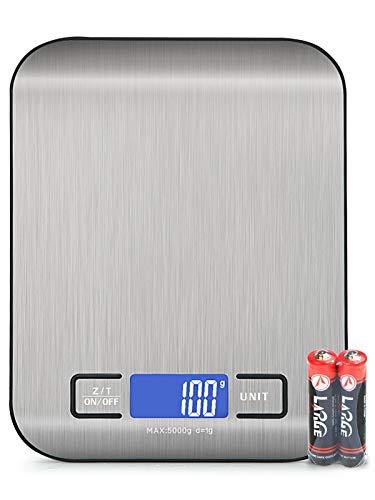 BENEFAST 1g bis 5kg Küchenwaage,Digitalwaage mit LCD-Display, Hochpräzise Professionelle Electronische...