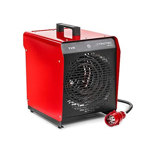 TROTEC TDS 50 E Elektroheizgebläse (max. 9 kW) Integriertes Thermostat 2 Heizstufen Kondensfreie Wärme Kein...