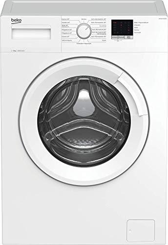 Beko WML61023NGR1 Waschmaschine/Vollelektronisch, 3-6-9 h Startzeitvorwahl, Schleuderwahl, 1000 U/min,...