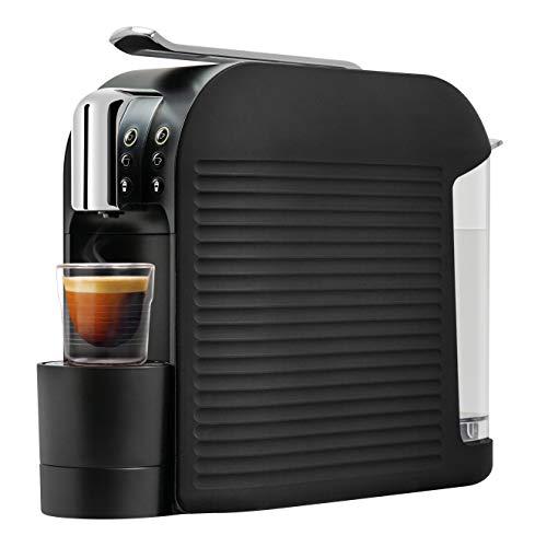 K-FEE 710205 Wave Kaffeekapselmaschine, 1455 Watt, 1 Liter Wassertank, Farbe High Gloss Black