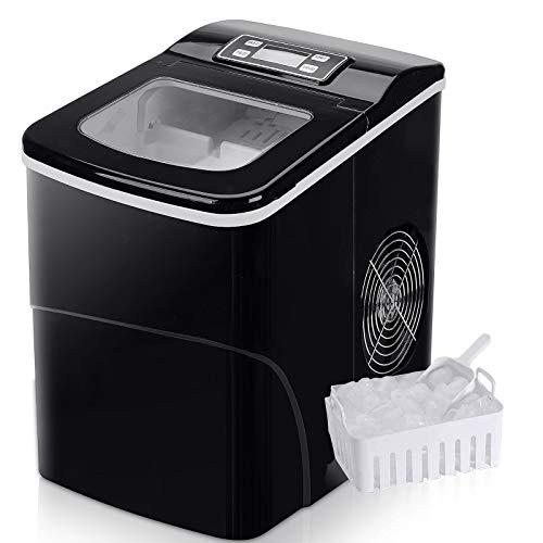 Ice Cube Maker FOOING Arbeitsmaschine für Ice Machine Maker In 6 Minuten bereit 2L Eismaschine mit...