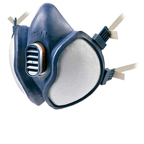 3M Atemschutz-Halbmaske Wartungsfrei, FFA1P2R D-Filters, 4251, EN-Sicherheit zertifiziert