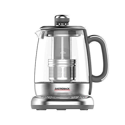 GASTROBACK 42440 Design Automat Advanced Plus, Automatischer Tee– und Wasserkocher (2 in 1),...