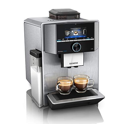 Siemens EQ.9 plus connect s500 Kaffeevollautomat TI9558X1DE, automatische Reinigung, Personalisierung, extra...