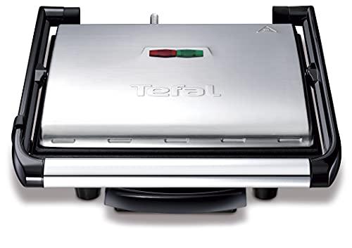 Tefal Kontaktgrill Inicio GC241D | Elektrogrill / Sandwichtoaster | Fettarmes Grillen | Panini, Toasts, Steak,...