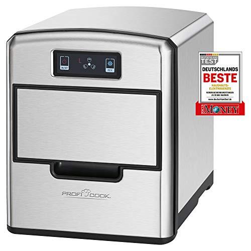 ProfiCook PC-EWB 1187 Eiswürfelbereiter,Sensor Touch-Bedienfeld, Eiswürfel nach wenigen Minuten verfügbar,...
