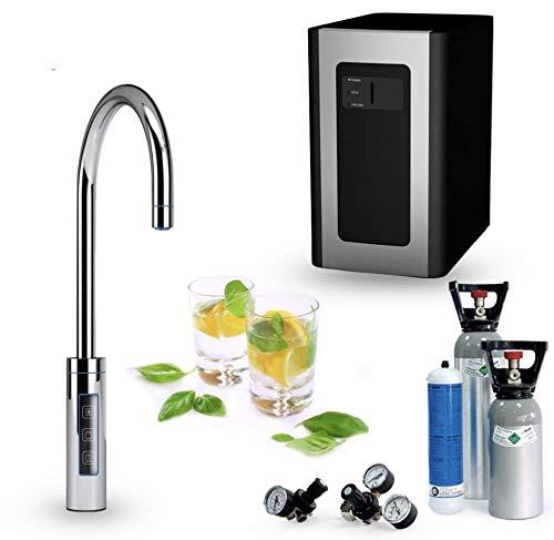 Untertisch-Trinkwassersystem SPRUDELUX RED Diamond inklusive 3-Wege-Zusatzarmatur. Profi-Wassersprudler für...