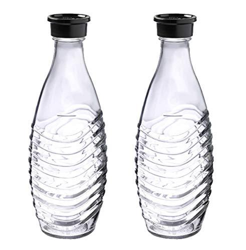 SodaStream DuoPack Glaskaraffe, Ersatzflaschen geeignet für die SodaStream Wassersprudler Crystal und...