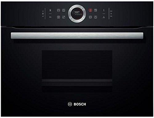 Bosch CDG634BB1 Serie 8, Elektro / Einbau- Dampfgarer / 59,5 cm / 38 L / Dampfgaren, schwarz