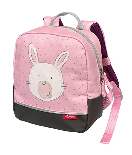 SIGIKID 25203 Mini Rucksack Hase Bags Mädchen Kinderrucksack empfohlen ab 2 Jahren rosa
