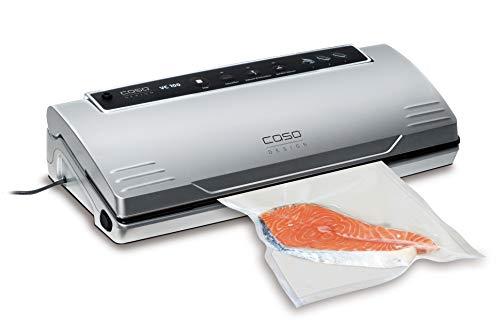 CASO VC100 Vakuumierer - Vakuumiergerät, Lebensmittel bleiben bis zu 8x länger frisch - natürliche...