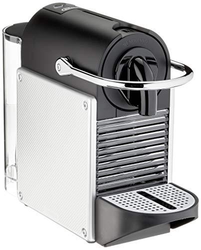 De'Longhi Nespresso EN 124.S Kapselmaschine Pixie Silber | 1260 Watt | 0,7 Liter | Seitenpanels aus recycelten...