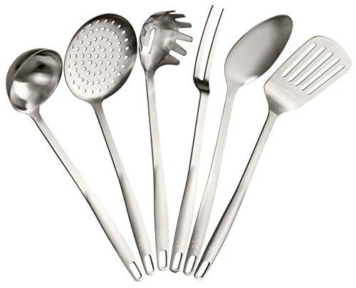 Stanley Rogers Küchenhelfer-Set, Kochbesteck aus hochwertigem Edelstahl mit Premium Oberflächenveredlung in...