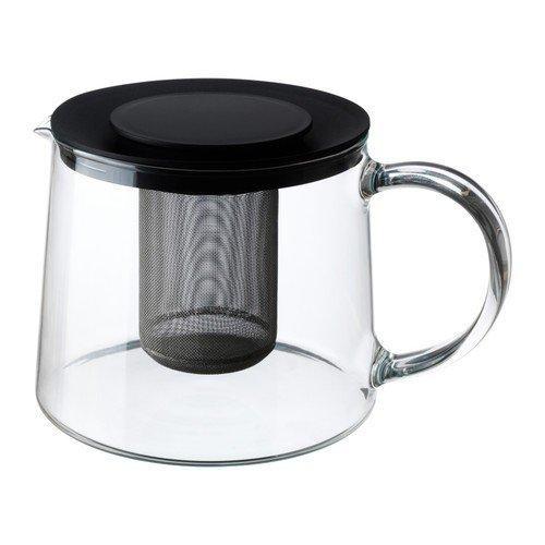 IKEA RIKLIG Teekanne aus Glas; (1,5l)