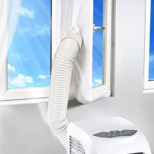 Rhodesy Fensterabdichtung für Mobile Klimageräte und Abluft-Wäschetrockner, Passend zu Jedem Klimagerät...