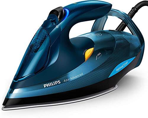 Philips GC4937/20 Azur Advanced Dampfbügeleisen, Automatische Abschaltung, 0.33 L, 3000 W, blau