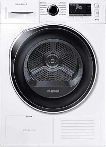 Samsung DV80K6010CW Wärmepumpentrockner/A++/8 kg/Blitzschneller Wassertank-Check/SmartCheck