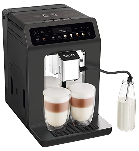 Krups EA895N Kaffeevollautomat Evidence One   One-Touch-Cappuccino   Doppel-Tassen-Funktion   12...