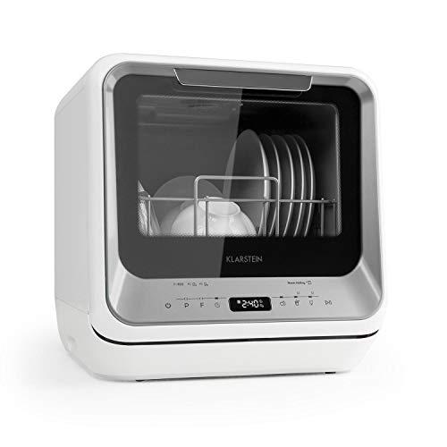 Klarstein Amazonia Mini Spülmaschine Geschirrspüler Geschirrspülmaschine (EEC: A, Platz für 2 Maßgedecke,...