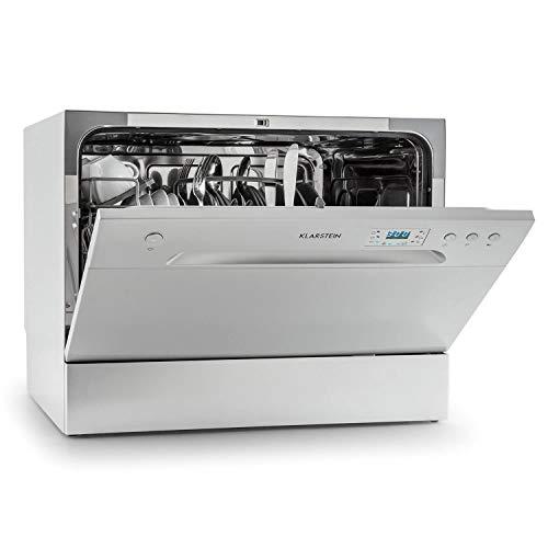 Klarstein Amazonia 6 Spülmaschine Tischgeschirrspüler (freistehend, A+, 174 kWh/Jahr, 55 cm breit, 49 dB...