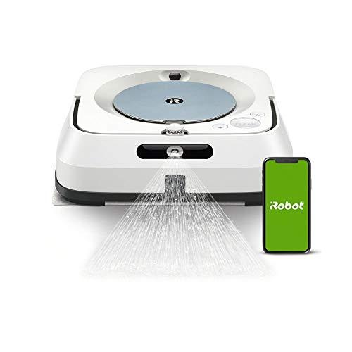 iRobot Braava m6 (m6134) Wischroboter mit WLAN, Präzisions-Sprühstrahl und erweiterter Navigation,...