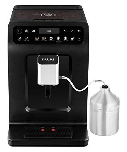 Krups EA8948 Evidence Plus Kaffevollautomat, Neues XL OLED-Farbdisplay, Barista Quattro Force Technologie, 16...